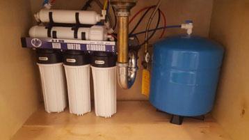 filter for kitchen installation